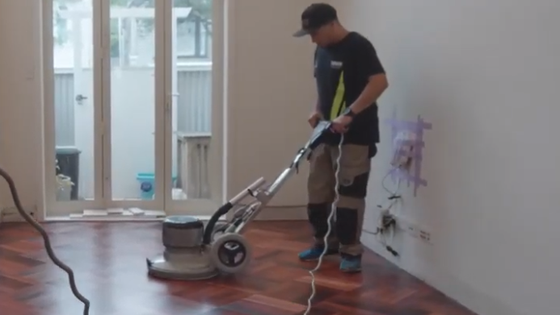 Flooring video tile