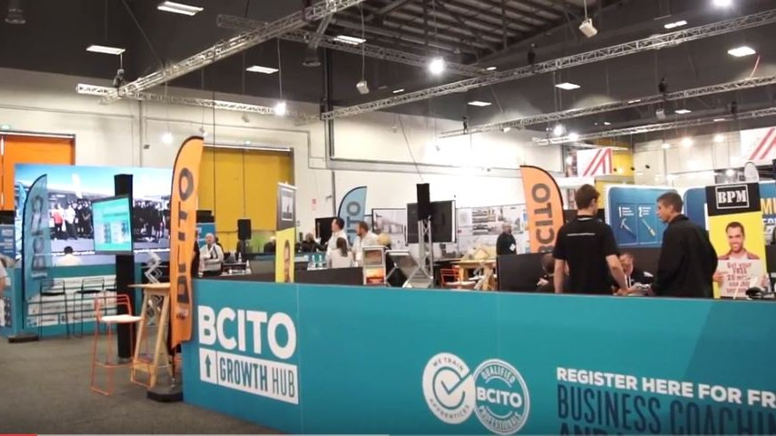 BCITO  at Build NZ / Designex 2017